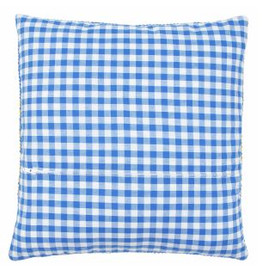 Cushion Back with Zipper: Blue: 45 x 62cm by Vervaco