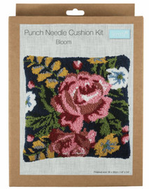 Bloom Cushion Punch Needle Kit by Trimits