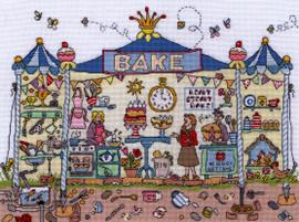 Cut Thru' Bakery Cross Stitch Kit by Bothy Threads