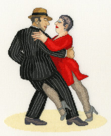 It Takes Two To Tango Cross Stitch Kit by Bothy Threads