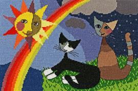 After The Storm Cross Stitch Kit by Bothy Threads