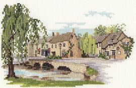 Bourton-On-The-Water Dale Designs Cross Stitch Kit by Derwentwater
