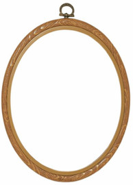 Natural Plastic Frame 20 x 25cm by Vervaco