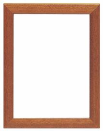 Dark Brown Wooden Frame 18 x 24cm by Vervaco