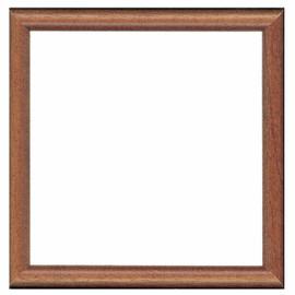 Dark Brown Wooden Frame 16 x 16cm by Vervaco