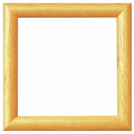 Natural Wooden Frame 8 x 8cm by Vervaco