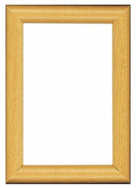 Natural Wooden Frame 8 x 12cm by Vervaco
