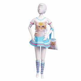Couture Outfit Making Set Tiny Cat By Vervaco