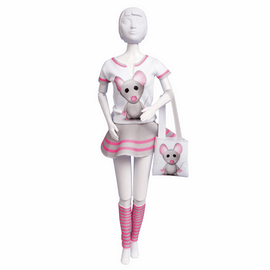 Couture Outfit Making Set Tiny Mouse By Vervaco