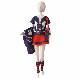 Couture Outfit Making Set: Tiny Mickey Red and Blue By Vervaco
