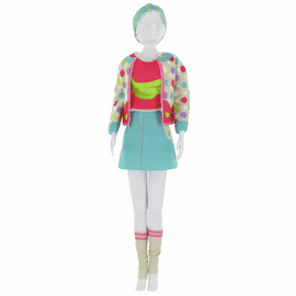 Couture Outfit Making Set: Candy Banana By Vervaco