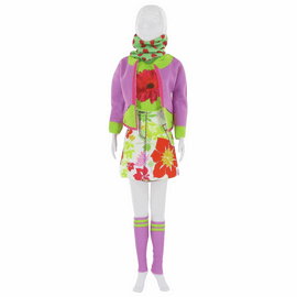 Couture Outfit Making Set: Candy Flower By Vervaco