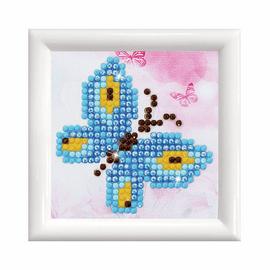 Butterfly Sparkle with Frame Diamond Painting Kit by Diamond Dotz