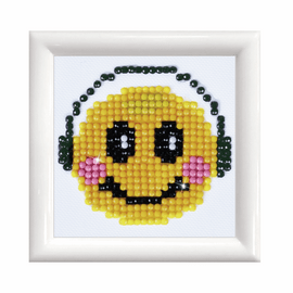 Smiling Groove with Frame Diamond Painting Kit  by Diamond Dotz