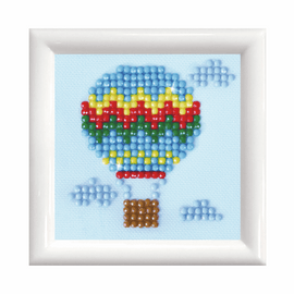 Up Up and Away with Frame Diamond Painting Kit by Diamond Dotz