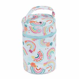 PVC Rainbow Wool Holder by Hobby Gift