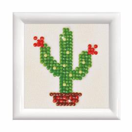 Texas Bloom with Frame Diamond Painting Kit by Diamond Dotz