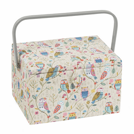 Twit Twoo Large Sewing Box by Hobby Gift