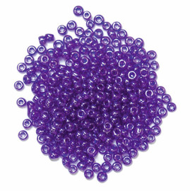 Seed Beads Purple 15g by Trimits