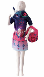 Twiggy Floral Magic Couture Outfit Making Set by Vervaco