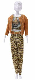 Kitty Tiger Couture Outfit Making Set by Vervaco