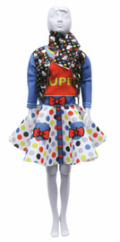Hello Kitty Lucy Dots & Bow Couture Outfit Making Set by Vervaco