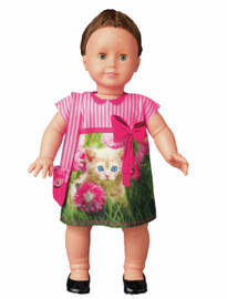 Cecily Kitten Couture Outfit Making Set by Vervaco