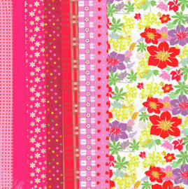 Pink Making Couture Fabric Set by Vervaco