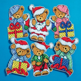 Crafts Little Christmas Bears Kits Kit By Design Works