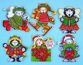 Kittens Christmas Tree Ornaments Kit By Design Works