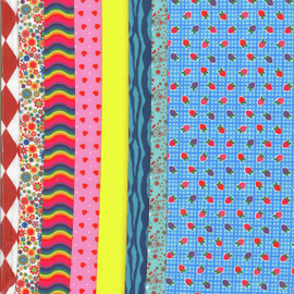 Making Couture Fabric Set: Strawberry Blue By Vervaco