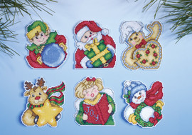 Holiday Gifts Christmas Tree Ornaments Kit By Design Works