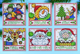 Christmas Tags Tree Ornaments Kit By Design Works