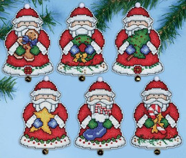 Santas Gifts Christmas Tree Ornaments Kit By Design Works