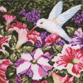 Hummingbird Tapestry Kit By Design Works
