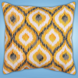Yellow Ikat Tapestry Kit By Design Works