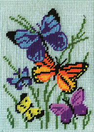 Butterflies Galore Counted Cross Stitch Kit By Design Works