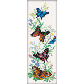 Flying Butterflies RTO Counted Cross Stitch Kit