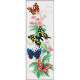 Butterflies and Flowers  RTO Counted Cross Stitch Kit