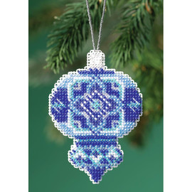 Azure Medallion Mill Hill Counted Cross Stitch Ornament Kit