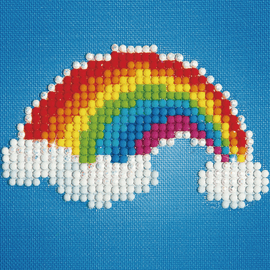 Diamond Painting Kit: Ever Living Rainbow  by Diamond Dotz®
