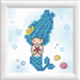 Diamond Painting Kit: Sea Star with Frame by Diamond Dotz