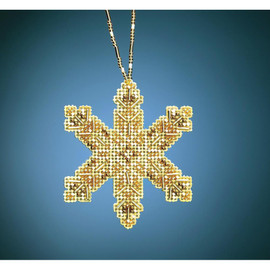 Victorian Snowflake Ornament Beading Kit By Mill Hill