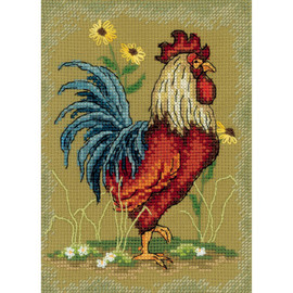 At the Crack of Dawn Cross Stitch Kit By RTO