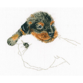 Warmth in Palms RTO Counted Cross Stitch Kit
