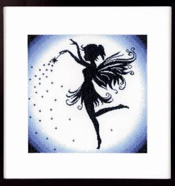 Enchanting Fairy Aida Counted Cross Stitch Kit by Lanarte