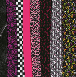 Monster Selection Making Couture Fabric Set by Vervaco