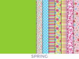 Spring Couture Outfit Fabric Set by Vervaco