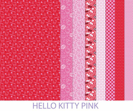 Hello Kitty Pink Making Couture Fabric Set by Vervaco