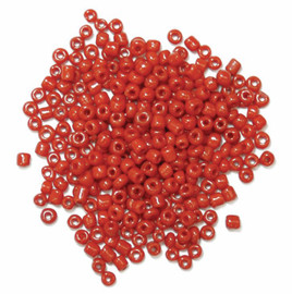 Extra Value Seed Beads Red 30g by Trimits